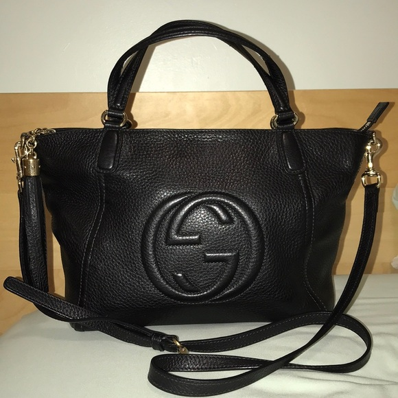 ef9d3406958c Gucci Bags | Soho Convertible Top Handle Bag | Poshmark
